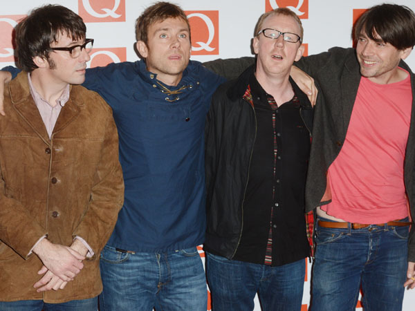 Blur premiere new singles from London rooftop