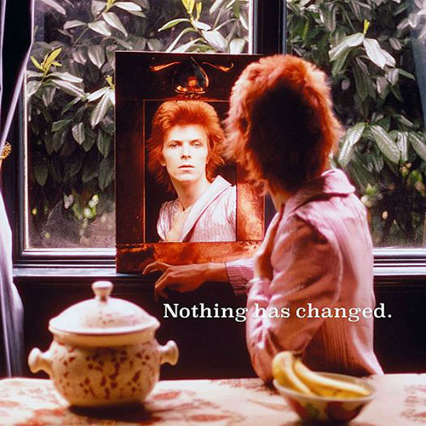 David Bowie unveils Nothing Has Changed new album artwork