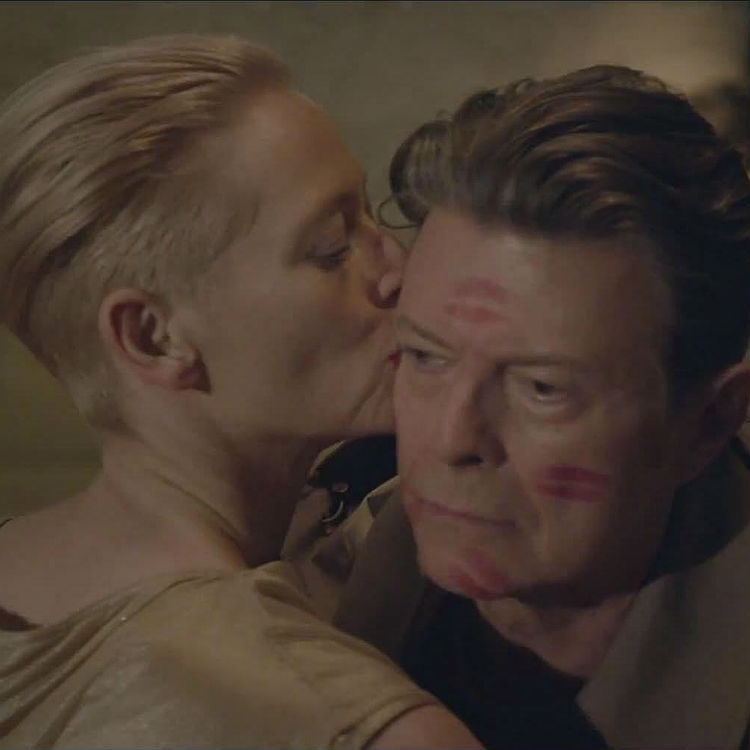 David Bowie tribute from Tilda Swinton his music, films, death funeral