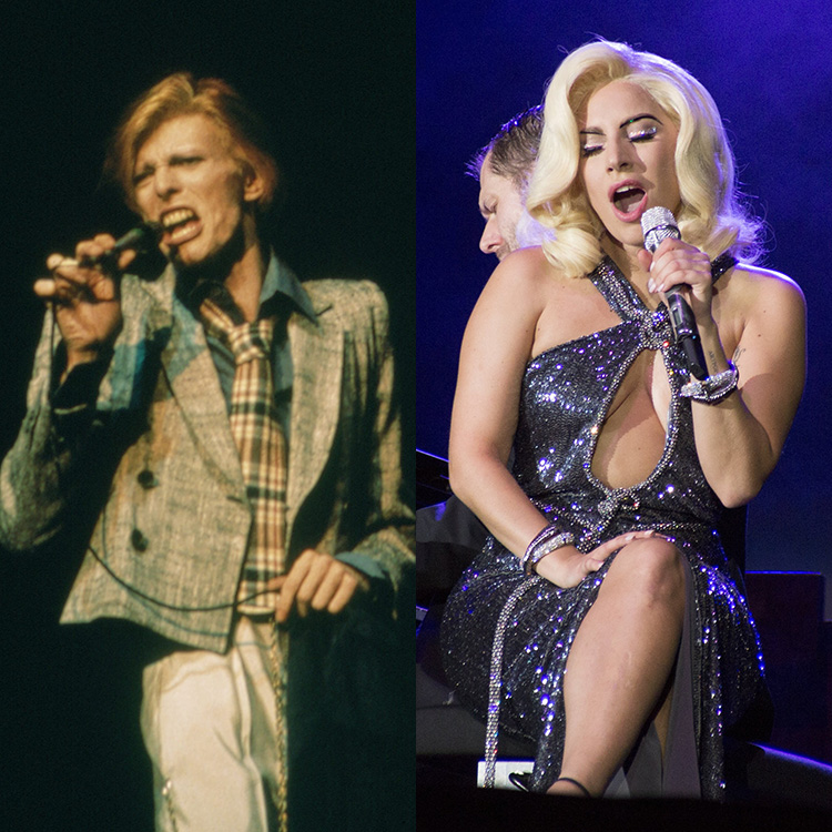 Lady Gaga perform a David Bowie tribute 2016 Grammy Awards posthumous