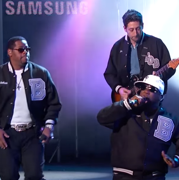 Fall Out Boy Boyz II Men Motownphilly on Jimmy Kimmel tour
