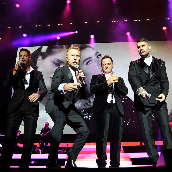 Boyzone announce series of 2014 forest gigs - tickets on sale Friday