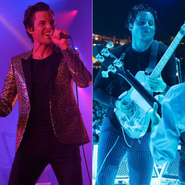 Brandon Flowers White Stripes cover Fell In Love With A Girl - watch