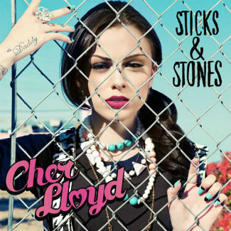 Cher Lloyd reveals US album artwork after V bottling incident