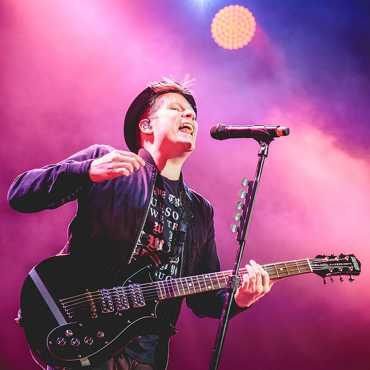 Fall Out Boy UK tour support Professor Green & Matt & Kim explained