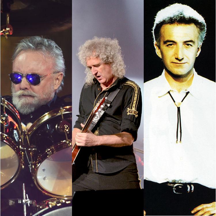 Queen facts non-Freddie Mercury, Brian May, John Deacon, Roger Taylor
