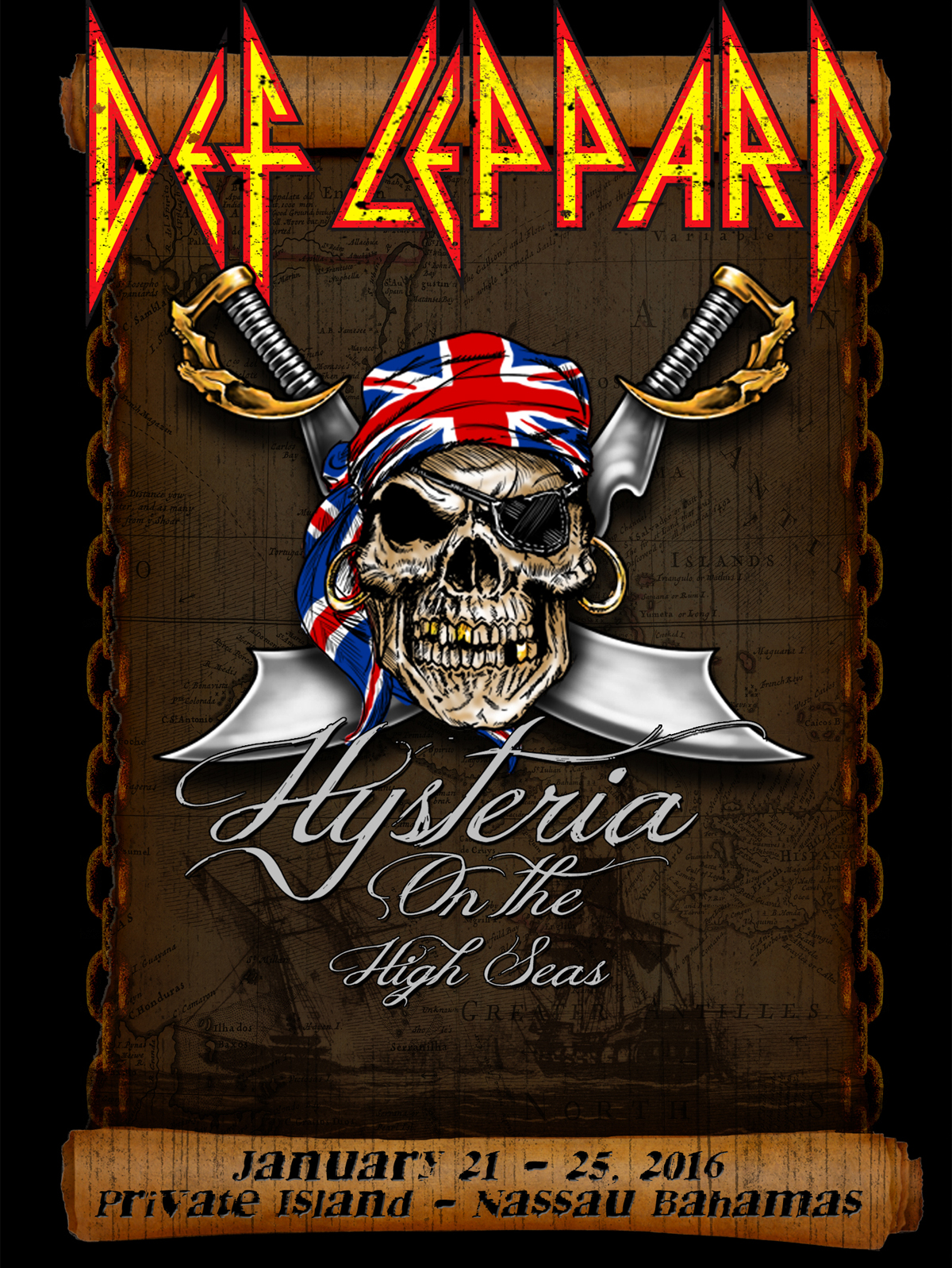 Def Leppard Announce Hysteria On The High Seas Cruise Gigwise