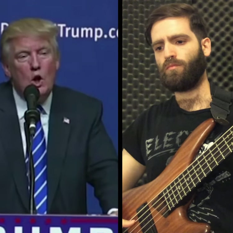 Donald Trump China bass cover video, Iggy Jackson Cohen