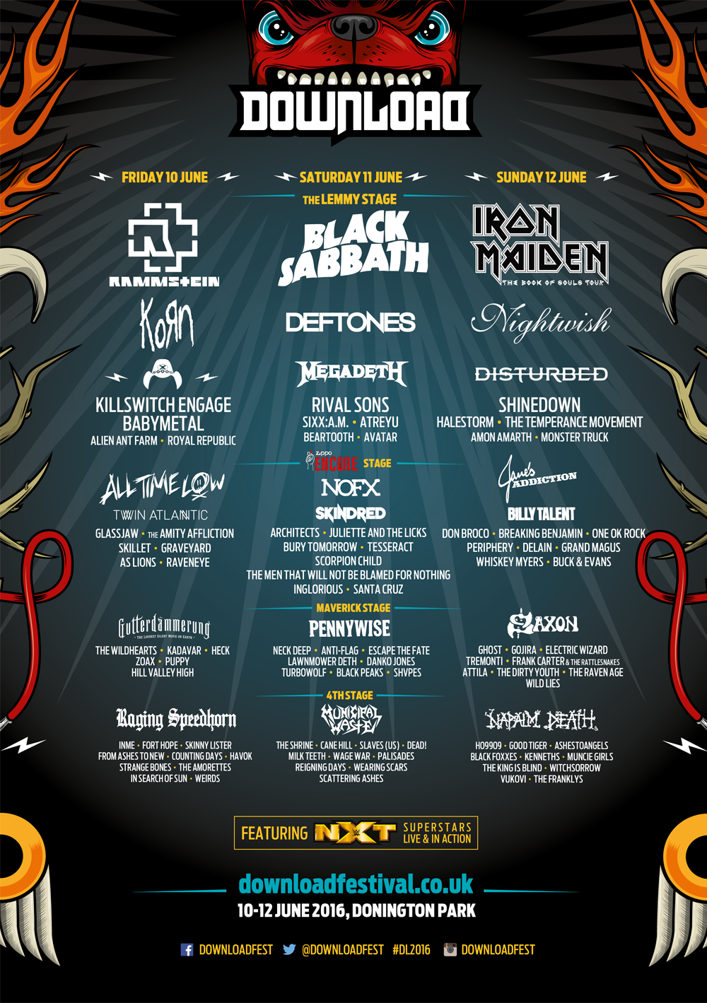 Download Festival adds even more names to this year's line