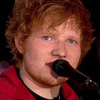 Ed Sheeran joined onstage by Snow Patrol's Gary Lightbody