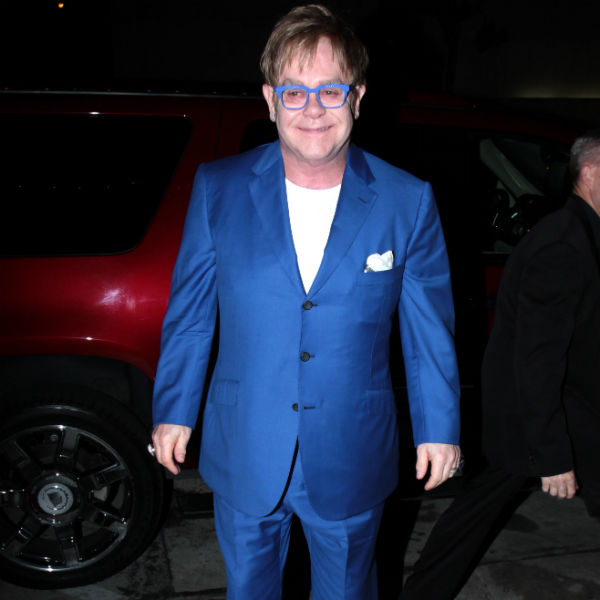 Elton John recovering at home after surgery to remove appendix