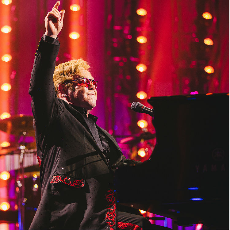 Tiny Dancer Elton John tour 2016 Roundhouse Apple Music new album