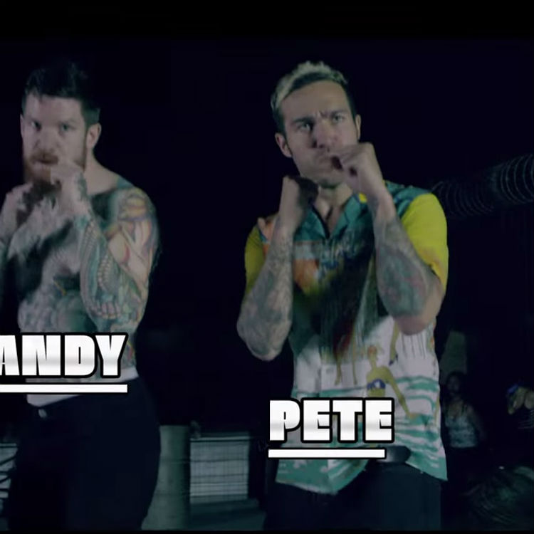 Fall Out Boy play video game characters in New Politics video