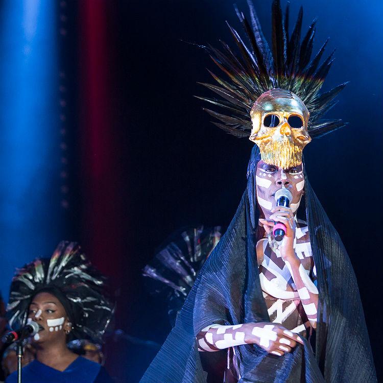 Festival No.6 review, Grace Jones, Belle and Sebastian