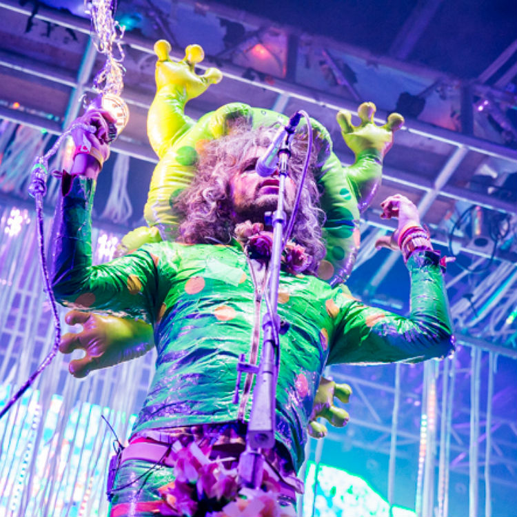 Flaming Lips live photos at Liverpool Sound City
