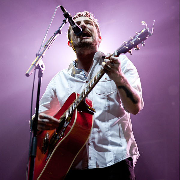 Frank Turner met Josh Homme and bonded over politics