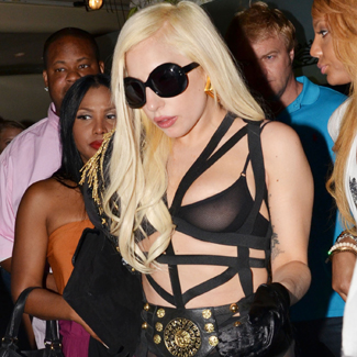 Lady Gaga sparks drug concerns as she smokes from pipe