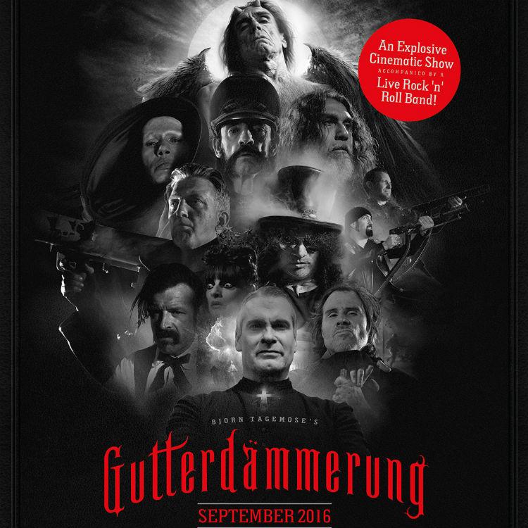 Gutterdammerung film 2016 UK tour tickets on sale now here - trailer