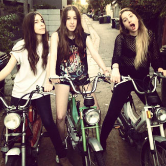 Haim: 'The album is awesome - and it is coming'