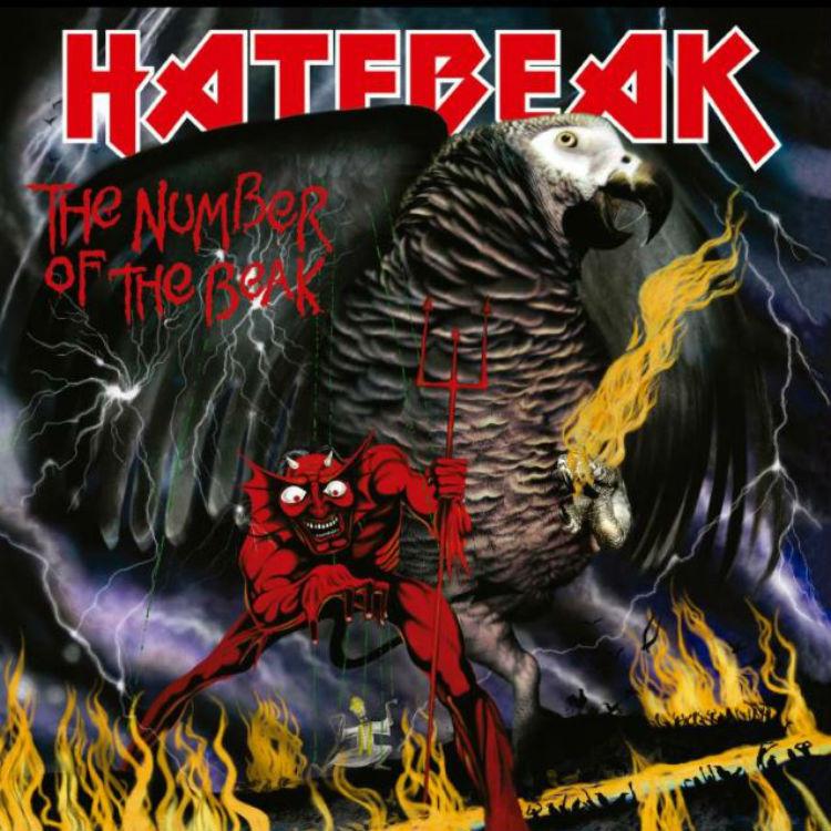 Hatebeak to release new album The Number of the Beak