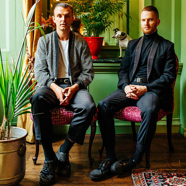 Hurts Surrender Some Kind Of Heaven video interview - watch