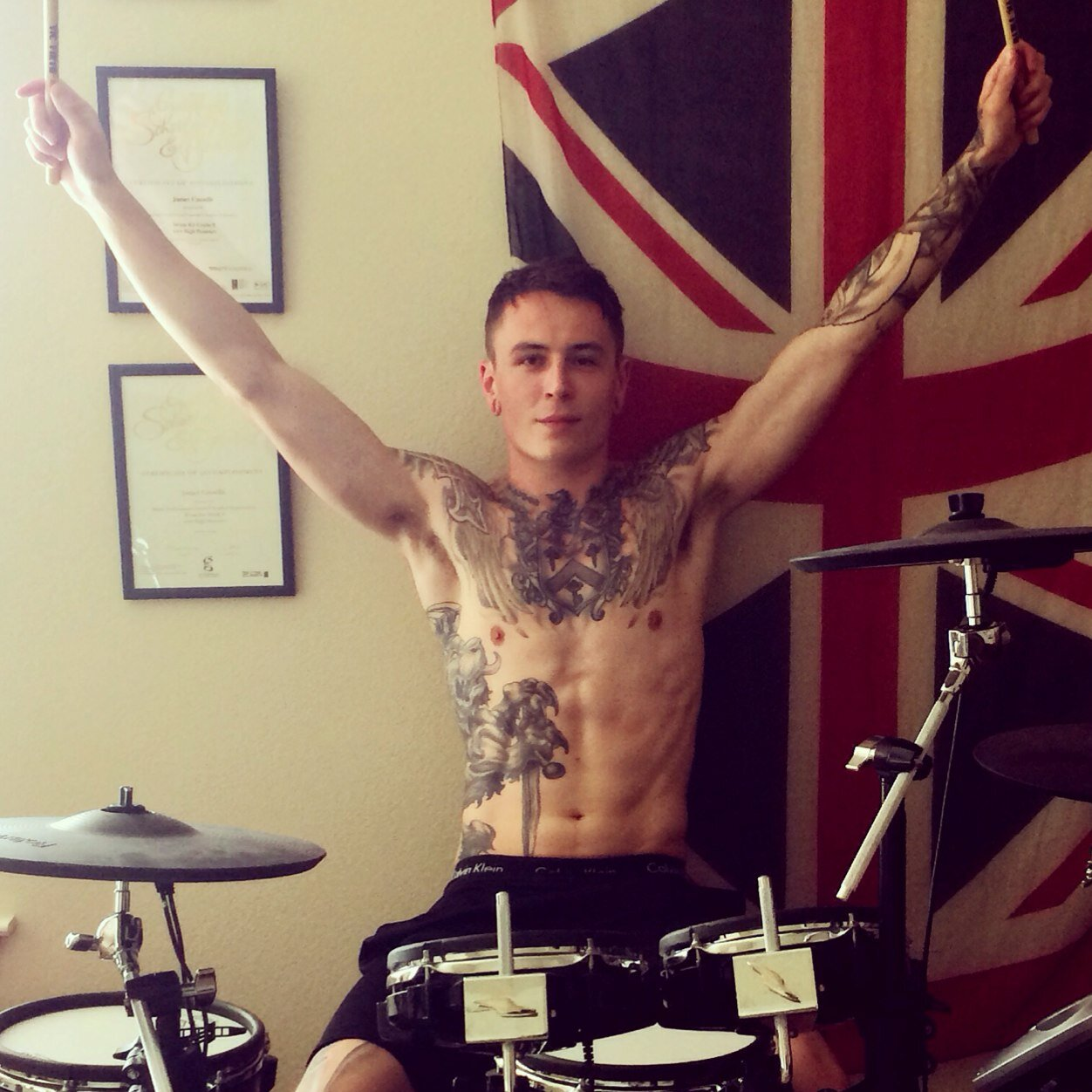 James Cassells of Asking Alexandria: we're just getting started