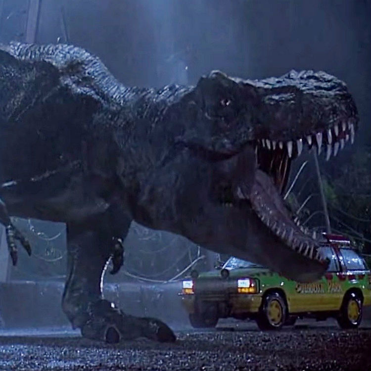 Jurassic Park screened at Royal Albert Hall London with live orchestra