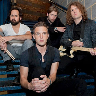Rock on top as The Killers' Battle Born hits No.1 on UK album chart