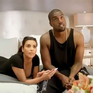 Kanye West films loved-up MTV VMA commercial with Kim Kardashian