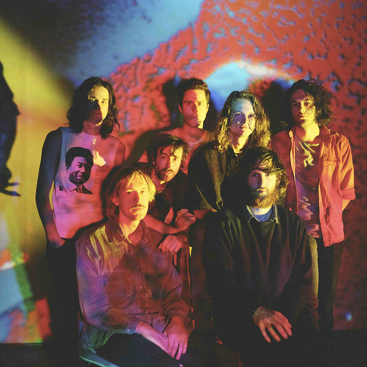 King Gizzard and the Lizard Wizard band live at SO 36 Berlin 23 August