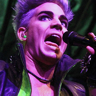 US star Adam Lambert insures his voice for �30million