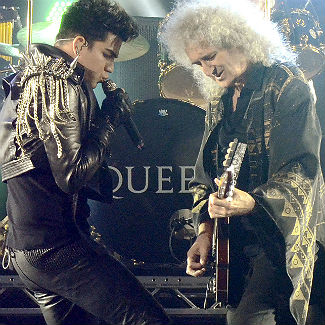 Adam Lambert and Queen perform 'Bohemian Rhapsody'
