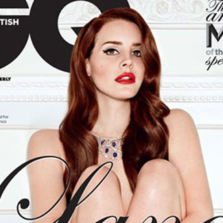 Lana Del Rey poses nude for GQ magazine cover