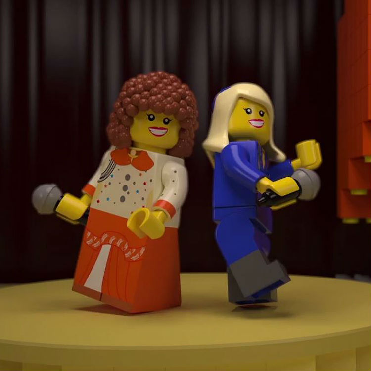 Lego 60th anniversary video tribute to Eurovision song contest