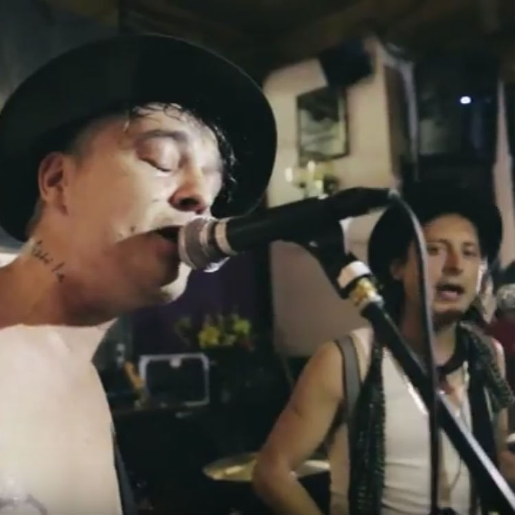 The Libertines tour hits London Boogaloo for surprise secret gig