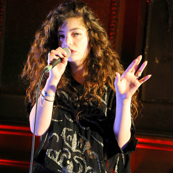 Lorde: 'Female singers aren't setting the best example'