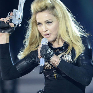 Catholic group protests Madonna's Poland show