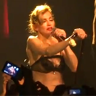 Madonna sobs during 'Like A Virgin' performance in Berlin - watch