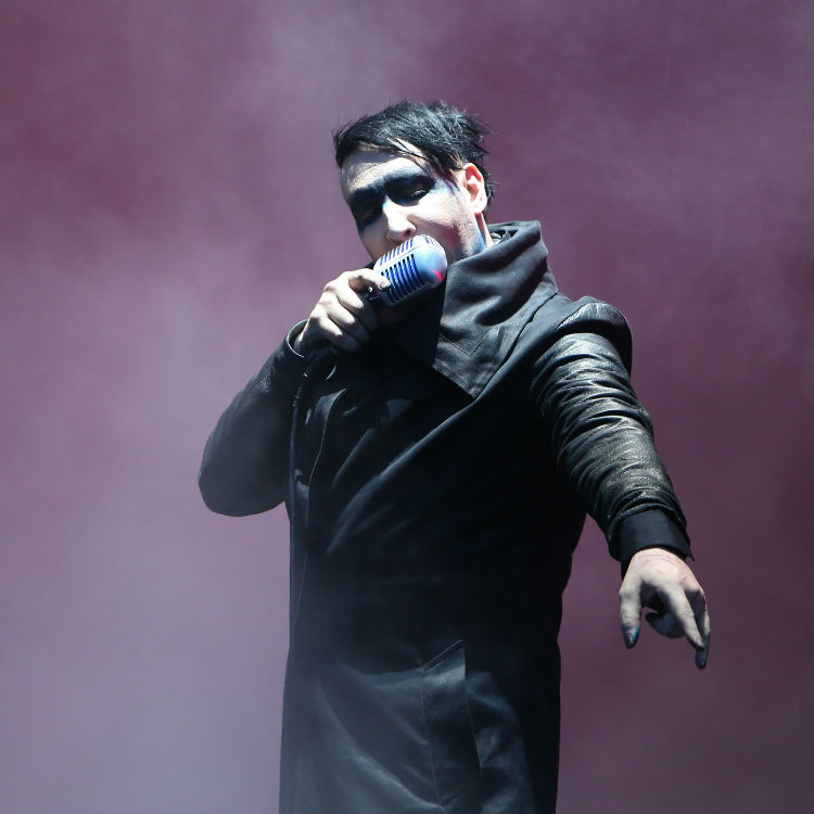 Marilyn Manson headline set at Download Festival 2015
