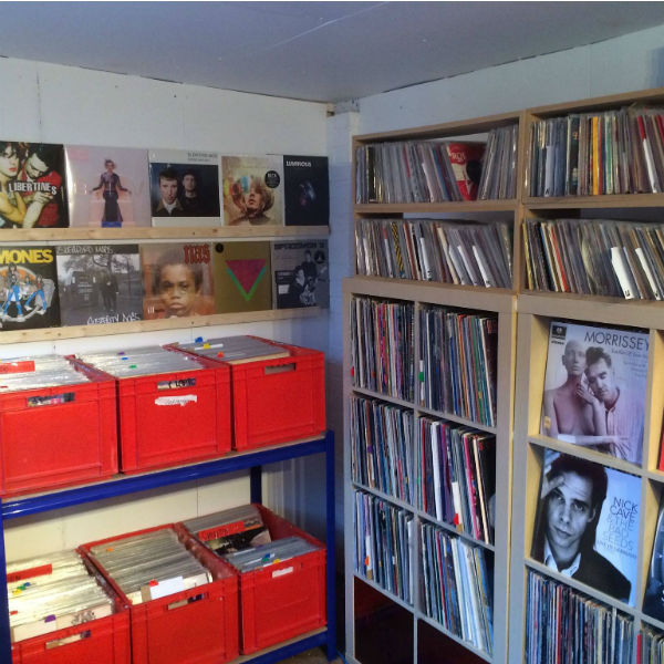 Meet Marrs Plectrum Records, the UK's 'smallest vinyl record shop'