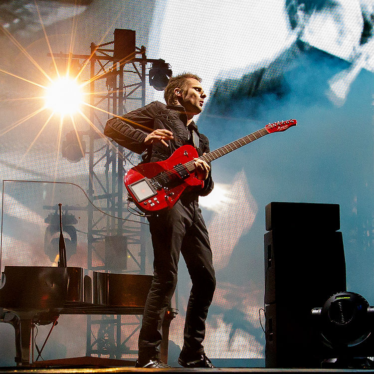 Muse live gig photos headlining Bravalla Festival, Sweden