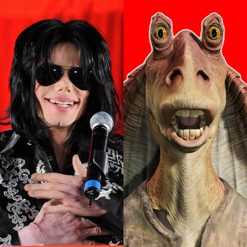 Michael Jackson wanted to play Jar Jar Binks in Star Wars films