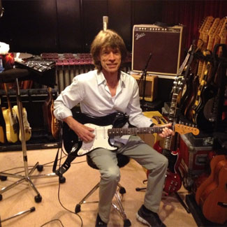 Mick Jagger posts picture from Rolling Stones Paris studio