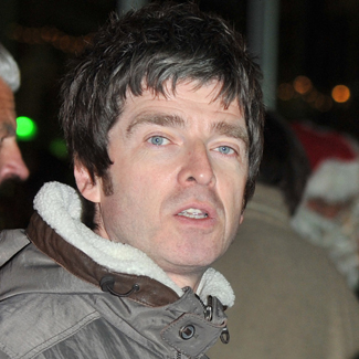 Noel Gallagher enjoying Oasis cash from Beady Eye gigs
