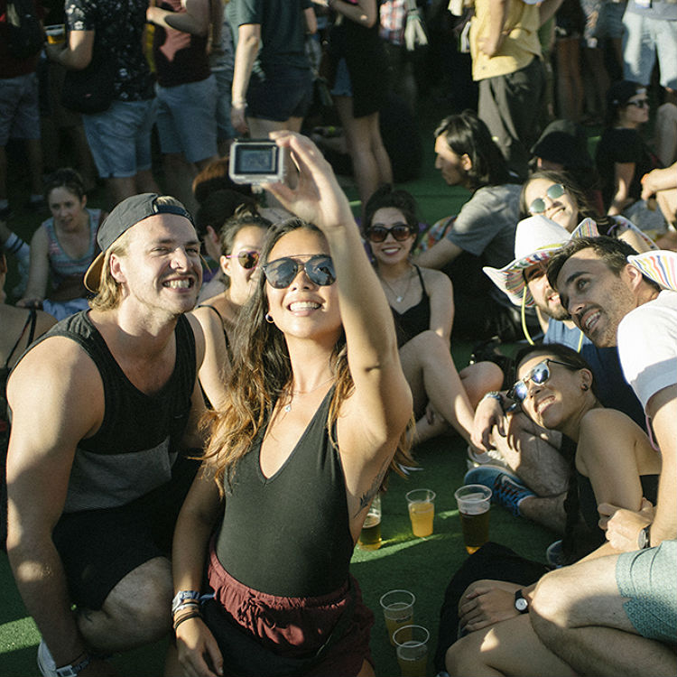 Nos Alive 2016 - photos of the crowd, audience and site