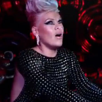 Pink surrounds herself with giant balls for 'Try' video - watch