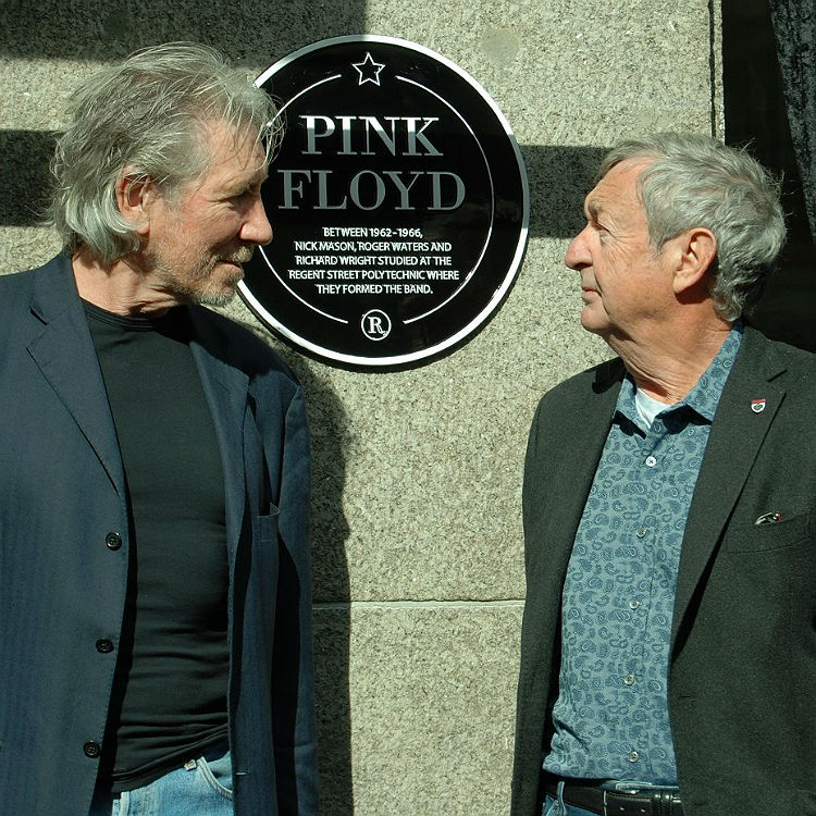 Pink Floyd members meet to mark their 50th anniversary