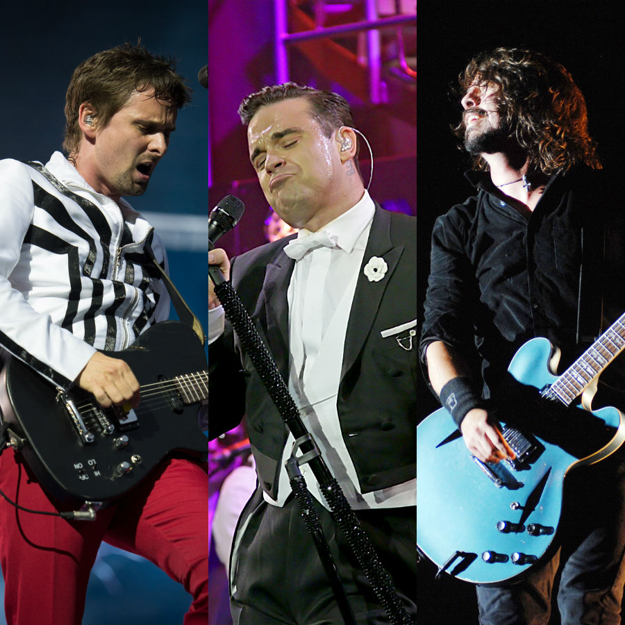 Muse, Foo Fighters and... Robbie Williams to headline Pinkpop