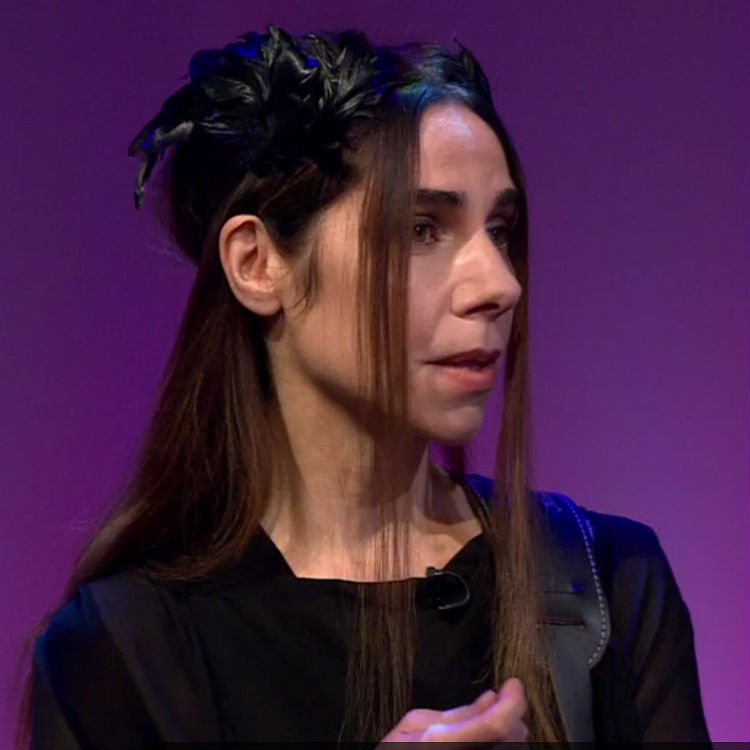 PJ Harvey rare interview and performance, Andrew Marr Show 2016