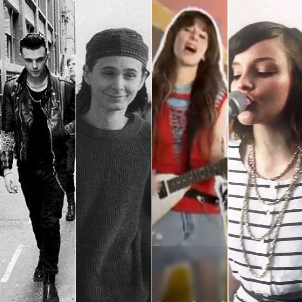 Previous bands before they were famous - Muse, Chvrches, Hurts, Lorde